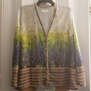 Anthropologie Dream Daily Floretum Cardigan